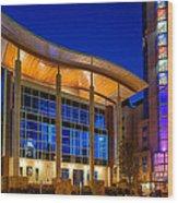 Austin Music Hall Wood Print