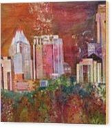 Austin Skyline IIi Wood Print