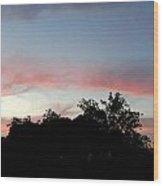Austin Sunset Wood Print