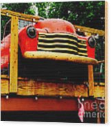 Austin Texas - Maria's Taco Express - Luther Fine Art Wood Print