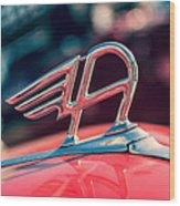 Austin Truck Classic Badge Wood Print