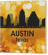 Austin Tx 3 Wood Print