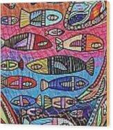 Australia Great Barrier Reef Wood Print