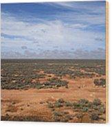 Australia Null Harbor Plain Wood Print