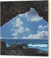 Australia Rock Wood Print