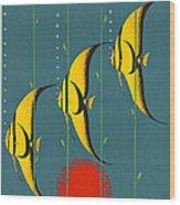 Australia Vintage Travel Poster Wood Print