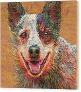 Australian Cattle Dog Wood Print
