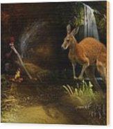 Australian Dreaming Wood Print