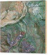 Australian Ore Mines Wood Print