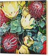 Australian Wild Flowers Wood Print