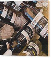 Australian Wine Wood Print