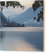 Austria Hallstatt Wood Print