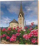 Austrian Church Wood Print