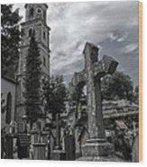 Austrian Graveyard Wood Print