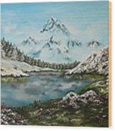 Austrian Lake Wood Print