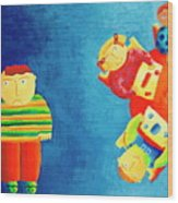 Autism Wood Print