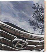 Auto Grill 14 Wood Print