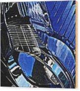 Auto Headlight 71 Wood Print