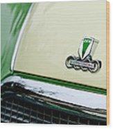 Auto Union Dkw Hood Emblem Wood Print