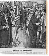 Automat 1903 Wood Print