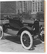 Automobile, 1921 Wood Print