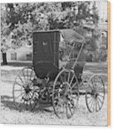 Automobile Duryea, 1893-94 Wood Print