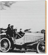 Automobile Racing, 1905 Wood Print