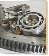 Automotive Clutch Parts Wood Print