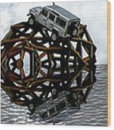 Automotive Wood Print