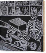 Autopsy Wood Print