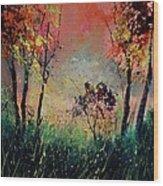 Autumn 5631 Wood Print