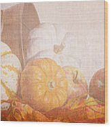 Autumn Abundance  Wood Print