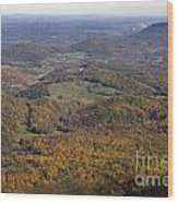 Autumn Across The Shenandoah Wood Print