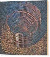 Autumn Amphitheatre Wood Print by Mark Howard Jones