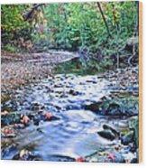 Autumn Arrives Wood Print