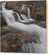 Autumn At Glen Ellis Falls Wood Print