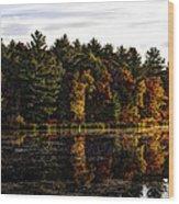 Autumn At It's Finest 2 Wood Print