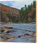 Autumn At The Youghiogheny Wood Print