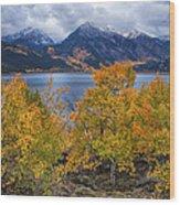 Autumn At Twin Lakes Wood Print