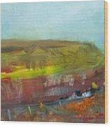 Autumn Bog Wood Print