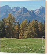Autumn - Brenta Dolomites Wood Print