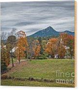 Autumn Chocorua Wood Print