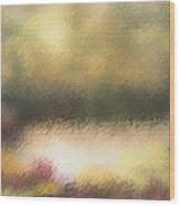 Autumn Colors - Abstract Wood Print