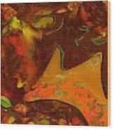 Autumn Crown Wood Print