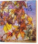 Autumn Dreams Wood Print
