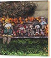 Autumn - Family Reunion Wood Print