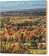 Autumn Glory Landscape Wood Print