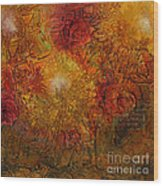 Autumn Glow - Wip Wood Print