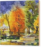 Autumn Gold 2 Wood Print