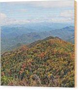 Autumn Great Smoky Mountains Wood Print
